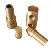 China Precision Electrical Equipment Hex Head Bolt Brass Stud Nut / Bolt Zinc Plate Surface on sale