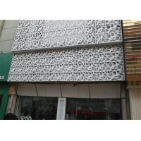 China Interior / Exterior Facade Aluminum Decorative Panels Carved Weather Resistance on sale