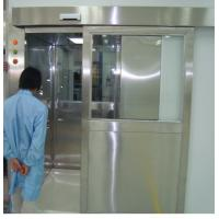 ISO 7 Energy Efficient Stainless Steel Air Shower Room With Automatic Slid Door Manufactures