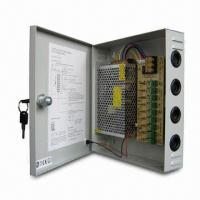 CCTV Power Supply with Self-reset Function and 220V AC/12V DC Voltage, Can Connect to 9 Cameras Manufactures