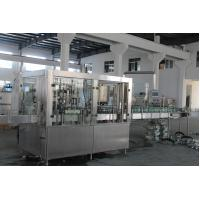 316 Stainless Steel Bottle Filling And Capping Machine , Automatic Water Filling Machine