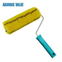 Easy Paint Paint Rollers For Smooth Finish Yellow With Black Stripe Manufactures