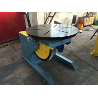 Buy cheap Motorized Rotating / Tilting Rotary Welding Turning Table For 2 Ton Rated Load Cap from wholesalers