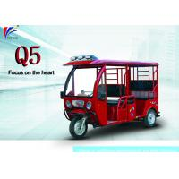 60V 1000W Electric Open Passenger Motor Tricycle 2780*950*1720 Mm Passenger Auto Rickshaw Manufactures