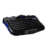Customized Ergonomic Membrane Gaming Keyboard , gaming pc keyboards With CE  FCC ROHS Manufactures