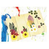 China Bookmark Decor Material Dried Flower Petal Crafts Home Decoration Accessories on sale