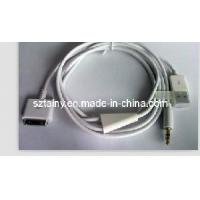 China for iPhone Car Aux Audio Line Data Transmission Charging Cable USB Interface on sale