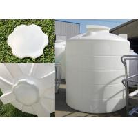 Industrial Polyethylene Corrosion Resistant Plastic Water Tower / 15000L Large PE Water Storage Tanks 15T Manufactures
