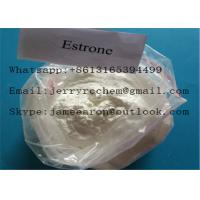 China Top Purity Raw Steroid Powders Estrone / Estratrien CAS 53-16-7 for Estrogen Usage on sale