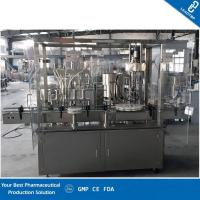 Accurate Filling Volume Automatic Water Bottle Filling Machine With 4 Filling Nozzles Manufactures