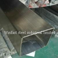 OD 6mm - 660mm Stainless Steel Welded Pipe Square Cold Drawing 300 Series Manufactures