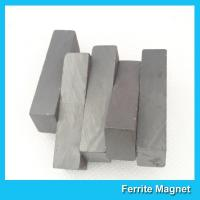 Strong Block Shaped Ceramic Ferrite Magnets C5 Grade For Industrial Use
