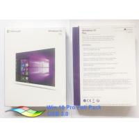 Buy cheap Global Language Windows 10 Pro Microsoft factory Sealed FPP Product Key Online Activation from wholesalers