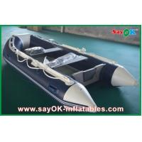 Rigid Hull Fiberglass Small Inflatable Boats With Heavy Duty Aluminum Floor Manufactures