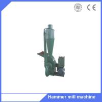 Capacity 300-500kg/h hammer mill grinder machine with cyclone Manufactures