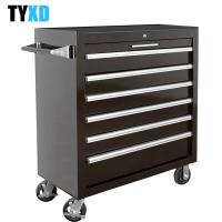 China Heavy Duty Workshop Use Metal Tool Box With Six Extra Large Lockable Drawers on sale
