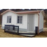 Germany Dismountable Movable Prefab House , Fire Proof Small Modular Cottages Manufactures