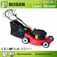 China 22 Aluminium Deck Hand Push Lawn Mower on sale