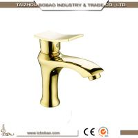 Latest Design antique Golden Basin water faucet Manufactures