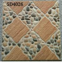 Antique Style 400x400 Floor Tiles Ceramic Exterior Courtyard  Differnt Patterned Manufactures