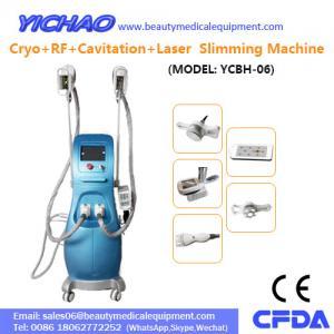 China RF Laser Vacuum Cavitation Cryolipolysis Fat Freezing Body Beauty Slimming Machine(YCBH-06) on sale