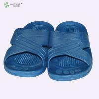 Multi Color Soft Anti Static Slippers Safety Shoes With Rubber Outsole Material Manufactures
