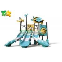 China Jungle Style Outdoor Swing Slide Trampoline Jump Park Environmental Protection Long Service Life on sale