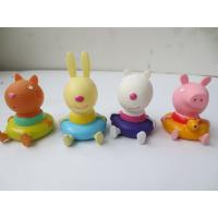 Baby Shower Gift  Animal Rubber Bath Toys Cute Animal Design For Infant / Toddler Manufactures