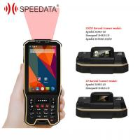 Quality 3G / 4G LTE Android Handheld Barcode Scanner with Display for Courier for sale