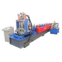 China Fully Automatic C&Z Purlin Forming Machine Interchangeable Size 11000*1150*1510mm on sale