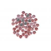 Strong Glue Crystal Hotfix Rhinestones , Sparkles Rhinestones 12 / 14 Facets Manufactures
