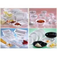 China Fast Food PS Foam Tray Simple Design Environmentally Friendly For Wedding Use on sale