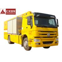 Yellow Color Fire Fighting Vehicle Large Flow Drainage 300HP 5000kgs Water Load Manufactures
