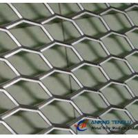 Hexagonal Hole Expanded Metal With Stainless Steel, Aluminum Plates Manufactures