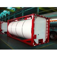 ISO 20ft Insulated Liquid Tank Container Cylinder or Square Shaped Manufactures
