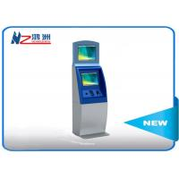 Multifunction interactive information kiosk lobby dual Touch screen kiosk Manufactures