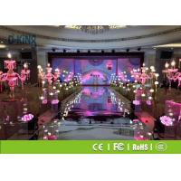 Mobile LED Screen Rental , P2.5 Video Wall LED Display For Wedding / Hotel Show Manufactures