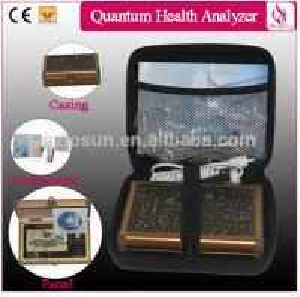 Suicase Full Body Comosition Quantum Resonance Magnetic Analyzer Manufactures