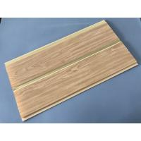 China 250 × 7 MM × 5.95M PVC Wood Panels Middle Groove Shape Easy Installation on sale
