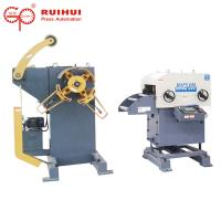 Decoiler Coil Feeder Straightener For Press Feeder With Color LCD Display Manufactures
