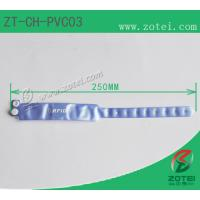 RFID one-time PVC wristband tag (LF/HF/UHF, Product Type:ZT-CH-PVC03) Manufactures