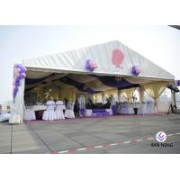 China Sunlight Proof Aluminum Frame Outdoor Party Tents / Large Commercial Event Tents on sale