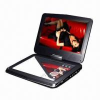 China 10 Portable DVD Player with TV, Game, USB, Card Reader, DVB-T, Supports MP4 Player, Digital Screen on sale