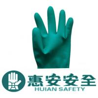 HA-SZ-01 Green Nitrile Heavy Duty Rubber Industrial Gloves Manufactures