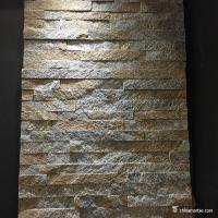 China Quartzite Cultured Mini Stone Panels / Stacked Stone Wall Panels For Decoration on sale