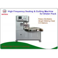 China Semi Auto High Frequency Blister Packing Machine For Big Toys Blister Pack on sale