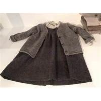 High quality Yarn Dyed Casual pure cotton baby girl dresses knitted for  6 years Manufactures