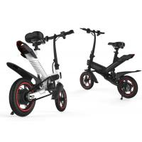 China Long Range Folding Electric Bike  , Electric Tricycle For Adults Aluminum Alloy Design on sale