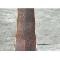 Dark Laminate flooring  3-strips with Double quick locking glueless floating Floors Manufactures