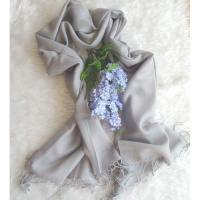 Cashmere blended with silk shawl Manufactures